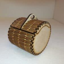 ékszertartó doboz-jewelery box- wood- fa