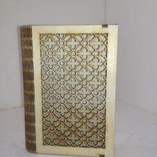 imakönyv tartó- rácsos- prayer book box-fa wood
