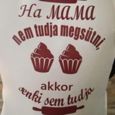 kötény - ha mama ...- szakács-cooking