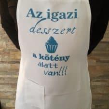 kötény - az igazi desszert...- szakács-cooking