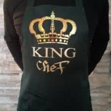 kötény-king chef- szakács-cooking