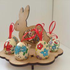 húsvéti nyuszi tojástartó