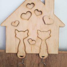 kulcstartó- cica- macska-cat-home-puzzle