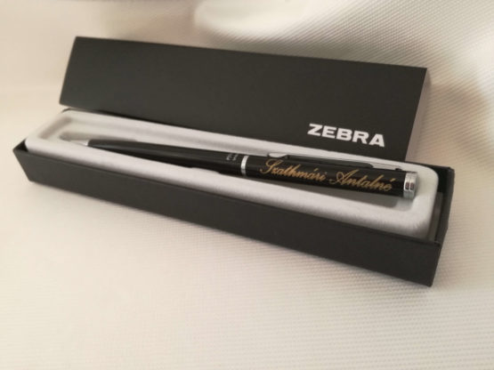zebra fortia-toll-pen-gravírozott