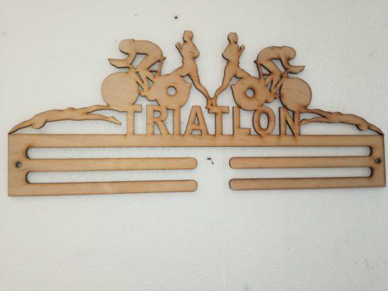 éremtartó-triatlon